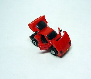 Micro Machines 1989 Deluxe Collection X red Ferrari F40