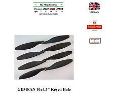 GEMFAN Propellers Carbon Nylon 1045 2CW+2CCW Keyed hole DJI Emax MARS Motors RC