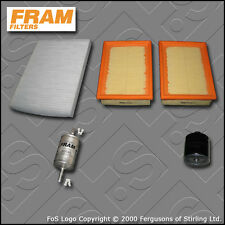 SERVICE KIT for VW POLO (6N) 1.0 8V ALD AUC OIL AIR FUEL CABIN FILTERS 1999-2001