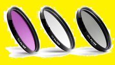 FILTER KIT 72mm CPL C-PL UV FL-D  TO SONY Camera  Camcorder Video