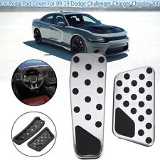 For 2009-19 Dodge Challenger Charger Chrysler 300 Gas & Brake Pedal Cover Kit