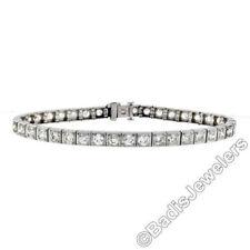 Pulseras de joyería de platino diamante