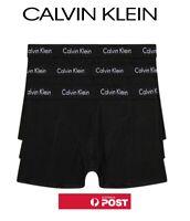 3 X CALVIN KLEIN CK Men's Underwear Comfort Fit Trunk 100% GENUINE AU STOCK
