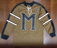 John Biebe #10 Mystery Alaska Movie Hockey Jersey Russell Crowe All Stitched