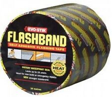 FLASHBAND Genuine Evo-Stik Flashing Tape 100mm x 10mtr Lead Substitute