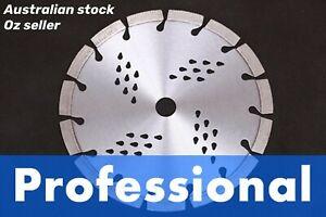 9inch Professinal Laser welded diamond saw blade 12mm High segment Concrete Pave