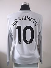 IBRAHIMOVIC #10 BNWT Manchester United Third Football Shirt Jersey 2017/18 (L)