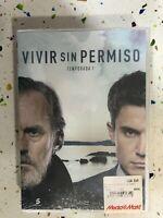 VIVIR SIN PERMISO PRIMERA 1ª TEMPORADA 1 PRECINTADA NUEVA ESPAÑOL 5 x DVD 3T
