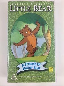 Maurice Sendak's Little Bear A Present for Mother Bear Abc video vhs tape