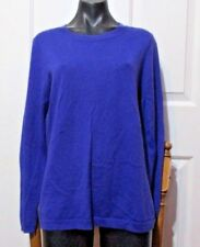 Ladies Purple Jumper size XL 14 Mix label UNDERARM 40 INCHES