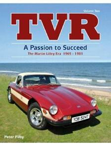 TVR · Passion to Succeed 1800s Tuscan Vixen 2500 M Taimar 3000s Tasmin Buch book