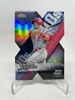 2020 Topps Chrome Mike Trout Decade of Dominance Die-Cut Refractor #DOD-1