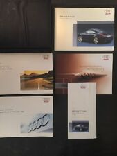 """2005 Audi TT Coupe owners manual """"10 YEARS ON EBAY"""""""