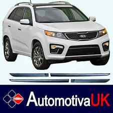 KIA Sorento Mk2 Rubbing Strips | Door Protectors | Side Protection Body Kit