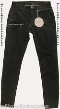 New Womens Marks & Spencer Black Skinny Trousers Size 10 Long DEFECT