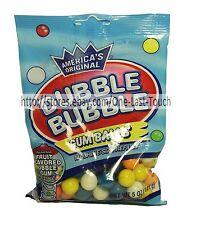 DUBBLE BUBBLE 5oz Bag GUM BALLS Assorted Fruit BUBBLE GUM Machine Size Exp. 3/19
