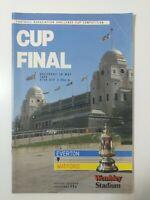 1984 FA CUP FINAL PROGRAMME - EVERTON V WATFORD
