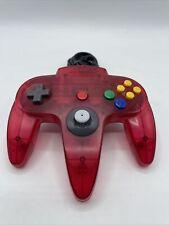 Nintendo 64 N64 Red Watermelon / Clear Funtastic Controller OEM Loose Stick