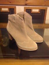 asos boots size 7 cream
