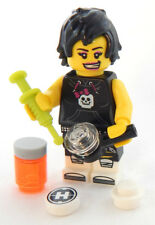 NEW LEGO FEMALE DRUG ADDICT MINIFIG junkie figure minifigure toy girl woman