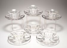 """12-HP Sinclaire Glass Plates and Bowls Pattern """"SIN3"""""""