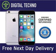 Entsperrt Apple iPhone 6-Silber 16gb-Netzwerk & SIM Frei + 1 Jahr Garantie