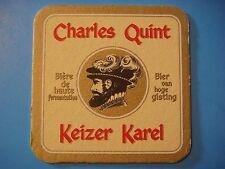 BEER COASTER ~ Haacht Keizer Karel Charles Quint Biere — Boortmeerbeek, BELGIUM