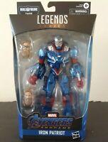 Authentic Avengers Marvel Legends 6-Inch Action Figure Iron Patriot