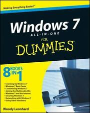 Windows 7 All-in-One For Dummies Leonhard, Woody  Good