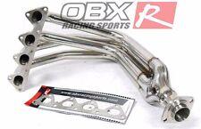 OBX Exhaust Manifold Header For 99-00 Civic Si/ 93-97 Del Sol Si 1.6L DOHC B16