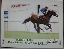 BELDALE BALL 1980 Melbourne Cup signed Print