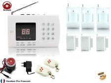 Kit Système d'alarme de maison sans fil  auto appel téléphonique Kit-3-3