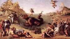 Piero Di Cosimo Perseus Frees Andromeda C1515 A4 Print