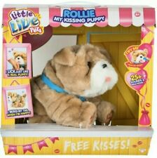 Little Live Pets Rollie My Kissing Puppy Makes Sounds Interactive New