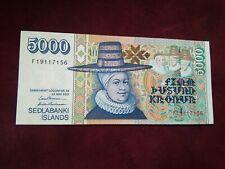 More details for iceland -  5000 kronur 2001 -  unc  banknotes