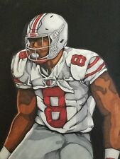 Gareon Conley Ohio State Painting signed
