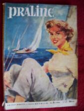 Praline Zeitschrift + Taschenbuch   Nr. 3 1954  rar