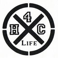 Hardcore 4 Life Patch/ricamate NUOVO 1,20 € HC punk oi! skinhead harcore punkrock