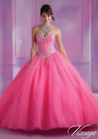 Sweetheart Evening Quinceanera Formal Prom Party Pageant Ball Dress Bridal Gown