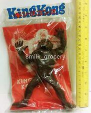 "Vintage 70s KING KONG 6"" Bootleg Sofubi Vinyl Figure Monster Japan MIP"