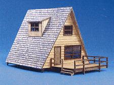 HO Reiten Models RMH13003 - A Frame Cabin Wood Lasercut kit - NIB