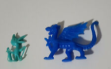CEREAL TOYS BLUE DRAGON GREEN BIRD PLAYING GOLF