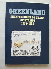 Greenland-50 Years Of Stamps 1938-88-by Greenland Po 1989