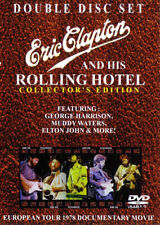 Dream Concert Series Presents: Eric Clapton & His Rolling Hotel Live  2 discs!!