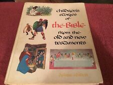 Children's Stories of the Bible, Old and New Testaments Hardback Book 1968