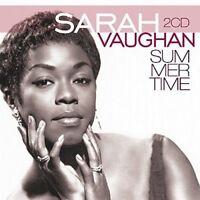 SARAH VAUGHAN - SUMMERTIME  2 CD NEU