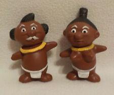 ++ 2 Japan - Püppchen / Puppe / Trader Vic's Menehune - gelber Halskranz ++