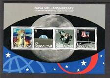 GIBRALTAR MNH 2008 NASA 50TH ANNIVERSARY MINISHEET