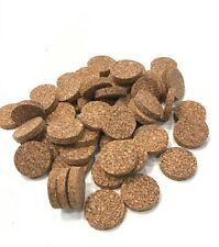 Cork Rings, 12 Brown Spotted Solid, 1 1/4� x 1/4�