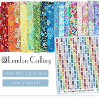 LONDON CALLING Robert Kaufman Japanese Lawn Quilt Fabric ~ 18 Fat Quarters